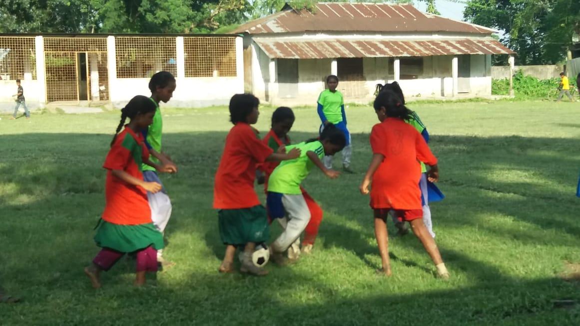 বাসাইলে বঙ্গবন্ধু গোল্ডকাপ ফুটবল টুর্ণামেন্টের ফাইনাল খেলা অনুষ্ঠিত