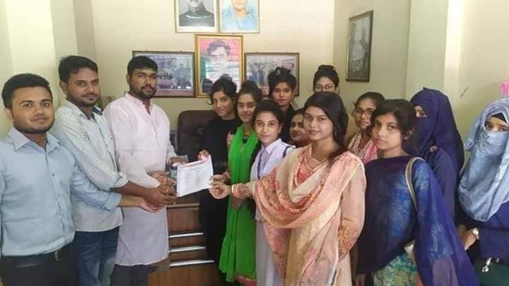 কুমুদিনী কলেজ শাখার ছাত্রকল্যাণ পরিষদের কমিটি গঠন