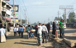 টাঙ্গাইলে পরিবহন ধর্মঘট; যাত্রীদের চরম দুর্ভোগ