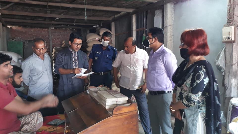 মির্জাপুরে ৪ ব্যবসায়ীকে ১লাখ ১০ হাজার টাকা জরিমানা
