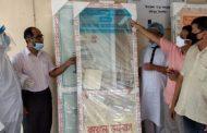 সখীপুরে আতাউল মাহমুদের করোনার বুথ নির্মাণসামগ্রী হস্তান্তর