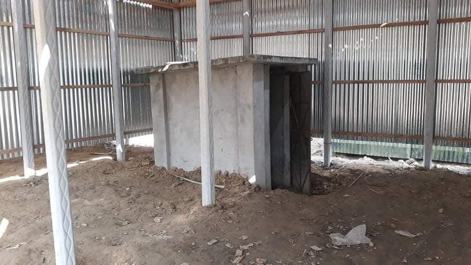 সখীপুরে পাবলিক টয়লেটের জায়গা দখল করে ঘর নির্মাণ