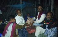 কাউলজানীতে আব্দুল বারেক খানের মৃত্যুবার্ষিকীতে শীতার্তদের মাঝে কম্বল বিতরণ