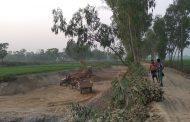 বাসাইলে অবৈধভাবে মাটি কাটার দায়ে দুইজনকে এক লাখ টাকা জরিমানা