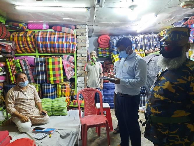 টাঙ্গাইলে ভ্রাম্যমাণ আদালতের অভিযান অব্যাহত, ৭ জনকে জরিমানা